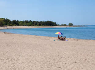 Main Beach in Spring